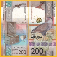 Aruba 200 Florin P-new 2019 UNC Banknote - Aruba (1986-...)