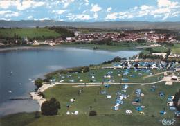 Cpa -39-clairvaux-pas Sur Delc.-vue Aerienne -lac , Camping-edi Combier N°48 43 A - Clairvaux Les Lacs