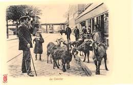 Paris Pittoresque Légende Rouge Künzli - Le Chevrier - Chèvres - Cecodi N'A 182 - Francia
