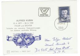 Oostenijk / Austria / Osterreich FDC 1977 Alfred Kubin - FDC
