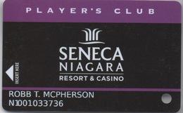 Carte Casino Player's Club : Seneca Niagara Resort & Casino (Percée) - Cartes De Casino