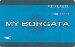 Borgata Casino Atlantic City NJ Temp Slot Card - Casino Cards
