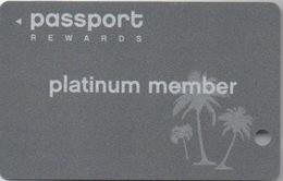 Bahamas : Carte Casino Passport Rewards : Crystal Palace Casino (Percée) - Cartes De Casino
