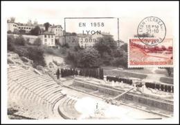 1146/ Carte Maximum (card) France N°1124 Bimillénaire De Lyon Fourvière - Cartoline Maximum