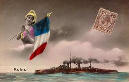 Malta, Marine De Guerre, Paris        (bon Etat) - Malta
