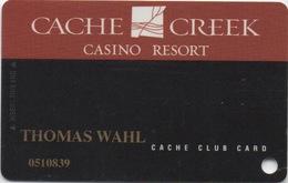Carte Casino : Cache Creek Casino Resort (Percée) - Casinokarten