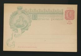INDIA Entier - Postal Stationery