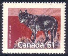 Canada Loup Wolf MNH ** Neuf SC (C11-75c) - Dogs
