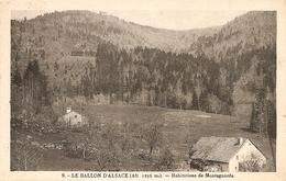 88. CPA. Vosges. Le Ballon D'Alsace. Habitations De Montagnards - France