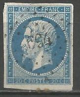 FRANCE - Oblitération Petits Chiffres LP 694 CHAILLAC (Indre) - Marcophilie (Timbres Détachés)