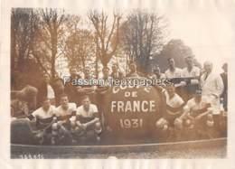 PHOTO  EQUIPE DE FOOTBALL Du SO MONTPELLIER  FINALISTE DE LA COUPE DE FRANCE 1931 (contre Le CLUB FRANCAIS) - Voetbal