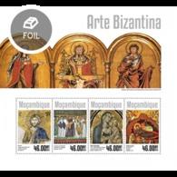 Mozambique, 2014. [moz14305] Byzantine Art (s\s+block) - Geschichte