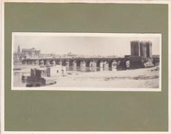 ESPAGNE CORDOUE CORDOBA Le Pont  Années '20. Photo Amateur Format Environ 7,5 X 1,5 Cm - Lugares