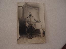CPA Photo Militaria 14-18 Poilu Identifié En Tenue Puyoo - War 1914-18