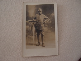 CPA Photo Militaria 14-18 Poilu Identifié En Tenue De Lahitte à Puyoo - War 1914-18