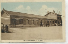 - 80 - SOMME -CHAULNES -  La Gare - Bahnhöfe Ohne Züge