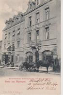 57 - ALGRANGE - HOTEL RESTAURANT HOHENZOLLERNHOF - A. ZIMMERMANN - France