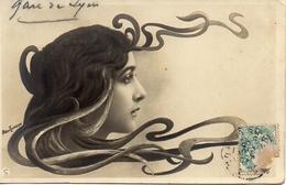 Artiste Femme 1900 - Cléo De Mérode Cheveux Ondulés (reutlinger) Sans Légende - Cabarets