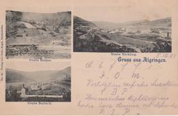 57 - ALGRANGE - 3 VUES - MINE STUMM + MINE BURBACH + MINE RÖCHLING - France