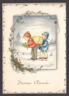 96941/ NOUVEL AN, Enfants Portant Un Gros Sac - Nouvel An
