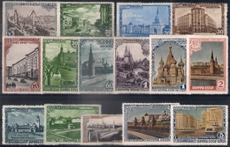 Russia 1947, Michel Nr 1137-51, MH OG - 1923-1991 UdSSR