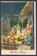96970/ NOUVEL AN, Petits Anges Entourant L'Enfant Jésus - Nouvel An