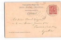 17533 UMBRIA PIROSCAFO POSTALE ITALIANO 1906 - GRAN CANARIA - 1900-44 Vittorio Emanuele III