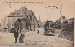 57 - ALGRANGE - RUE CLEMENCEAU - TRAMWAY BEAU PLAN - France