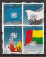 Guinée-Bissau - 1995 - N°Yv. 664 à 667 - ONU / UNO - Neuf Luxe ** / MNH / Postfrisch - ONU
