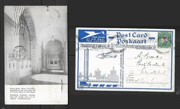 S. Africa, Posting Boxes GPO, Used 1/2d, EMPIRE EXHIBITION JOHANNESBURG 16 I 37 > CHRISTOBAL CANAL ZONE FE 6 37 - South Africa
