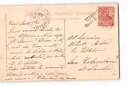 17536  TERRANOVA CASALE MONFERRATO X  SAN COLOMBANO AL LAMBRO - MORANO PO CHIESA PARROCCHIALE - 1900-44 Vittorio Emanuele III