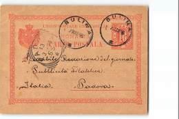 17543 ROMANIA CARTA POSTALA SULINA TO PADOVA - Postwaardestukken