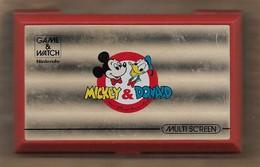 Game & Watch Nintendo Mickey & Donald Multi Screen (en état De Fonctionnement) 4scans - Electronic Games