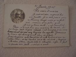 CPA Photo Militaria 14-18 Correspondance De Poilu Régiment Identifié - Guerre 1914-18