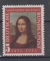 GERMANY 1952 ART LEONARDO DA VINCI MONA LISA GIOCONDA - Impressionismo