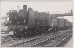 67 - MOLSHEIM - CARTE PHOTO - TRAIN DANS LA GARE BASSE - Molsheim