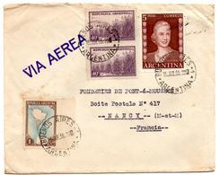 Lettre Par Avion De Buenos Aires (15.07.1955) Pour Nancy Eva Peron - Argentine