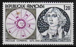 FRANCE  N°  1818  * *  Astrologie Copernic Kopernik - Astrología