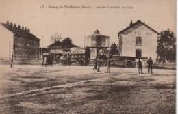 CAMP DE VALDAHON  ARRIVEE D ARTILLERIE  DOS VERT - France