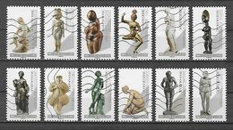 FRANCE 2019 Oblitéré :  - Le Nu Dans L'art - Sculptures - Femmes & Déesses - Adhésifs (autocollants)
