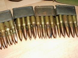Lot De Clips Chargeur M1 GARAND Et Cartouches (neutralisées)+CA US WW2 - 1939-45