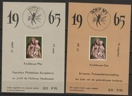 E 92/93 Knokke /zee /Knokke Sur Mer ** - Erinnophilie