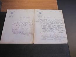 ROSCOFF-GRAND HOTEL ROSCOVITE-1927 Et 1930-2 Courriers Signés De CABIOCH Soeurs-adressés Au Notaire MOAL ST POL DE LEON - Manuscrits