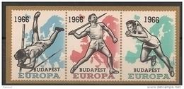 Erinnofilie E 98 **   1966 Budapest - Erinnophilie