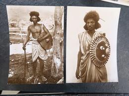IT  - ERYTHREE - ERITREA - Guerriero Cunama - Guerriere Bileno - Eritrea