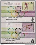 Erinnofilie E 121/122 ** Jeux Olympiques Munchen 1972 - Erinnophilie