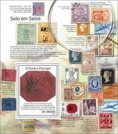 Sao Tome And Principe, 2014. [st14318] Stamps On Stamps (s\s+bl) - Briefmarken Auf Briefmarken