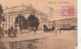 *** ROMANIA -- Bucaresti Teatro National - TTB - Roumanie