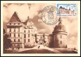 2341/ Carte Maximum (card) France N°1596 Château (castle) De Hautefort (Dordogne) - Cartas Máxima