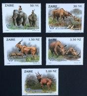 Congo / Zaire 1993; Fauna, Wild Animals; Elephant; MNH / Neuf** / Postfrisch!! - Zaire